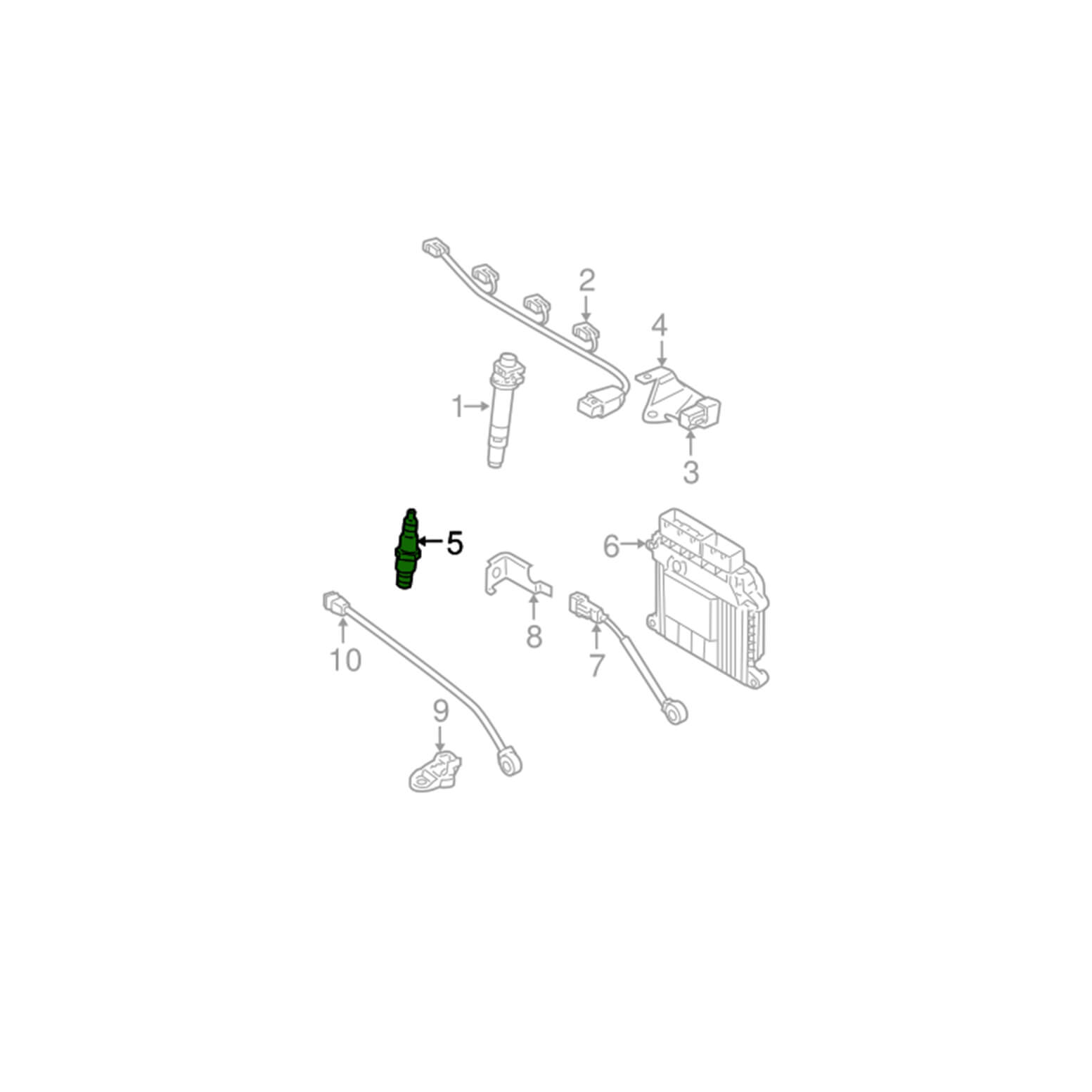 شمع موتور 11051-18814