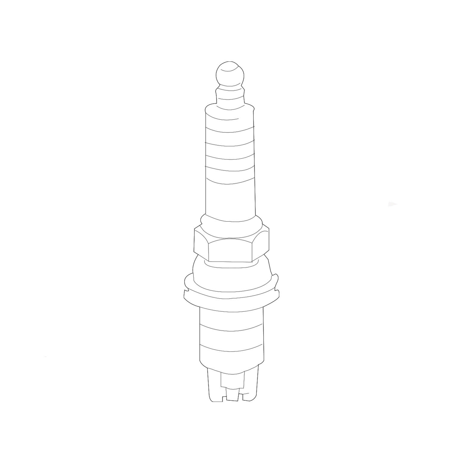 شمع موتور ایریدیوم ۱۱۱۶۰-۱۸۸۴۵