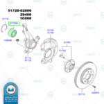 بلبرینگ-چرخ-جلو-اکسنت-ILJIN (5)