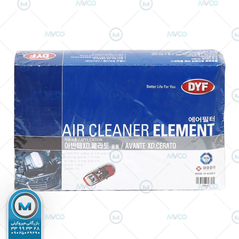 فیلتر هوا اوانته ۹۱-۸۳ DYF